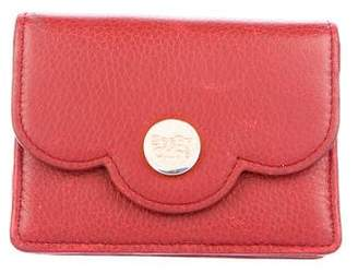 See by Chloe Grained Leather Compact Wallet