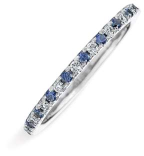 Kwiat Diamond & Sapphire Stackable Ring