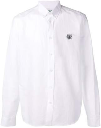 Kenzo button down logo shirt