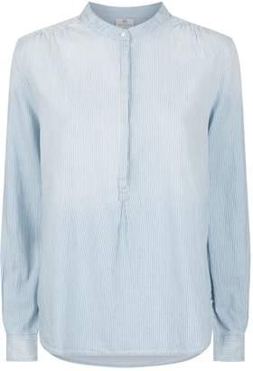 AG Jeans Audryn Collarless Shirt