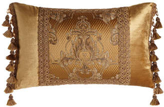 "Dian Austin Couture Home Camilla Pillow, 15"" x 24"""