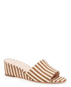 Loeffler Randall Tilly Striped Cotton Wedges