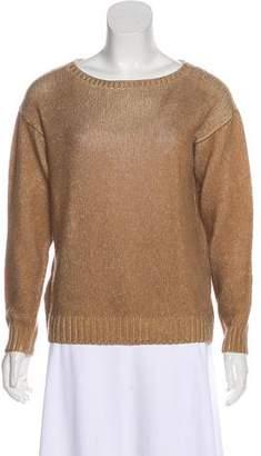 Prada Knit Scoop Neck Sweater