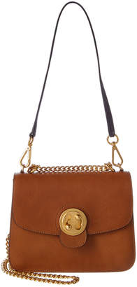 Chloé Mily Small Leather & Suede Shoulder Bag