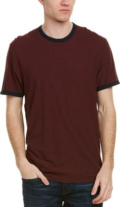 James Perse Ringer Linen-Blend T-Shirt