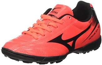 Mizuno Monarcida Neo AS JNR, Unisex Kids' Football Boots, Multicolore (FieryCoral/Black), (38.5 EU)