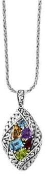 Effy Amethyst, Topaz, Citrine, Garnet, Peridot and 18K Goldplated Sterling Silver Pendant Necklace