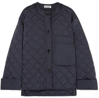 Jil Sander Quilted Shell Jacket - Navy