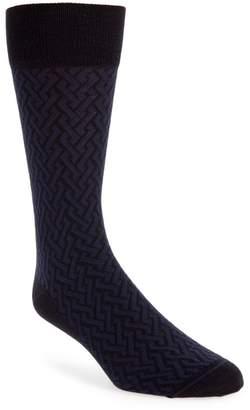 John W. Nordstrom R) Intertwined Lines Socks