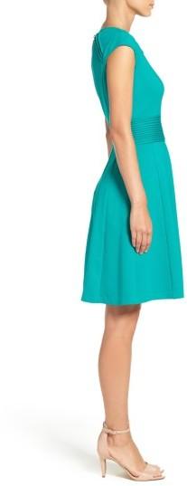 Women's Eliza J Ponte Fit & Flare Dress 4