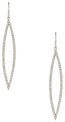 ABS by Allen Schwartz Pave Navette Drop Earrings