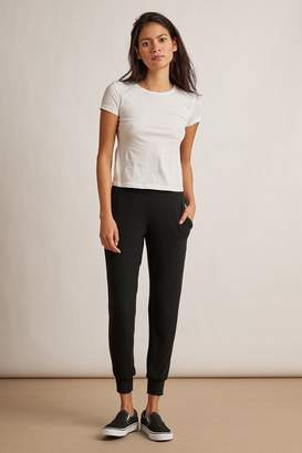 Velvet by Graham & Spencer Velvet By Graham Spencer Blakely Cozy Jersey Cuffed Jogger