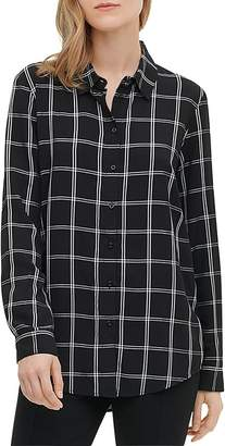 Calvin Klein Windowpane Boyfriend Shirt