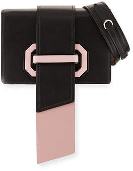 Prada Plex Ribbon Geometric Small Shoulder Bag $2,280 thestylecure.com
