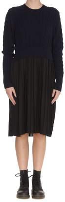 Kenzo Mixed Knit Dress