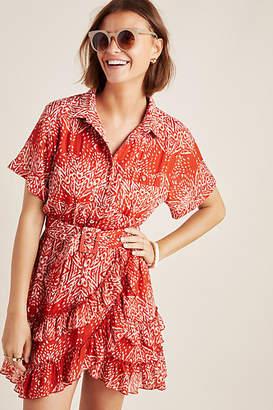 Steele Melbourne Ruffled Shirtdress