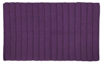 Design Imports Ribbed Bathroom Rug, Small, 100% Cotton, Multiple Colors/Sizes