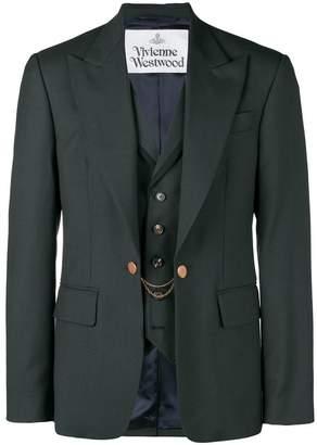 Vivienne Westwood layered blazer