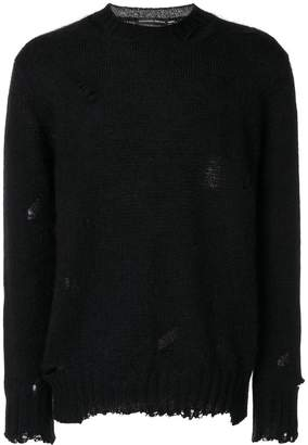 Alexander McQueen distressed jumper