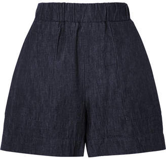 Tomas Maier Denim Shorts - Navy