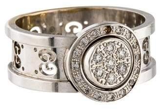 Gucci 18K Diamond Icon Twirl Ring