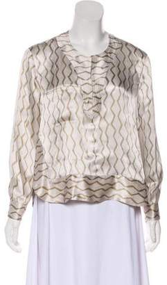 Isabel Marant Silk Crepe Tunic