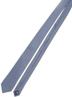 Lanvin Geometric Cubes Print Design Tie