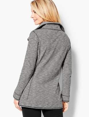 Talbots Cotton Piqué Jacket - Heathered