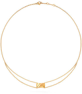 Chanel Coco Crush Pendant In 18k Yellow Gold