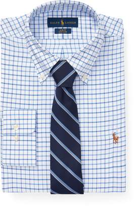 Ralph Lauren Slim Fit Checked Oxford Shirt
