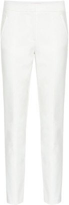 Tory Burch Vanner mid-rise straight pants