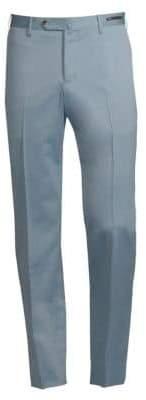 Pt01 Pantaloni Torino Solaro Wool& Cotton Trousers