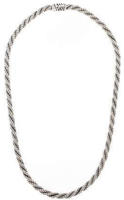 John Hardy Twisted Classic Chain Necklace