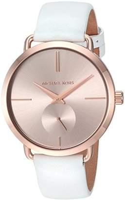 Michael Kors Women's Portia White Watch MK2660