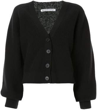 Alexander Wang disrupted button cardigan
