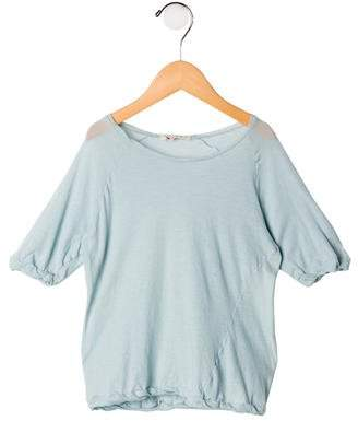 Limited Cheap Affordable Marni Short Sleeve Scoop-Neck Top Cheap Sale Pay With Paypal Clearance Affordable Amazon Cheap Price vOZKWI
