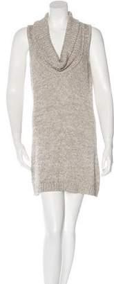 Magaschoni Sleeveless Sweater Dress