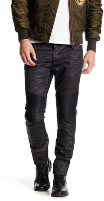 American Stitch Coated Black Moto Pant $131 thestylecure.com