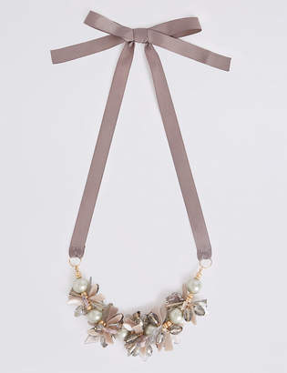 M&S Collection Pearl Bunch Necklace