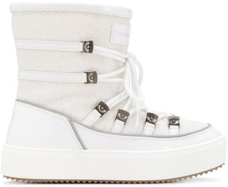 Chiara Ferragni Flirting ankle snow boots