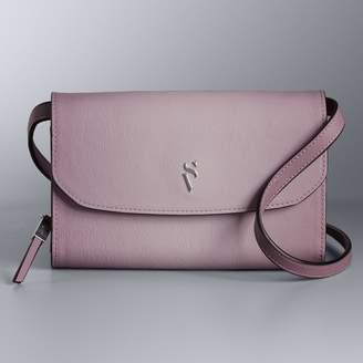 Vera Wang Simply Vera Signature Envelope Crossbody Bag