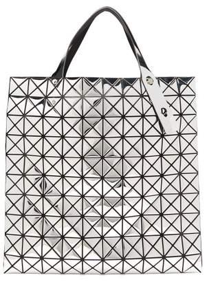 Bao Bao Issey Miyake Platinum Large Metallic Pvc Tote Bag - Womens - Silver