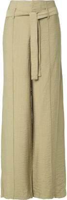 Uma Raquel Davidowicz belted wide leg trousers