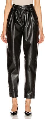 MSGM Patent Pant in Black | FWRD