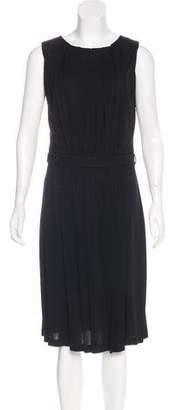 Fendi Draped Knee-Length Dress