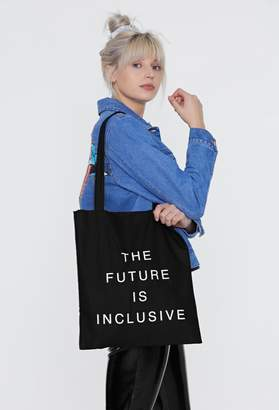 Nasty Gal The Future is Inclusive Tote Bag