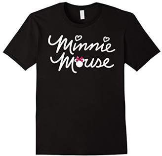 Disney Minnie Mouse Script T Shirt