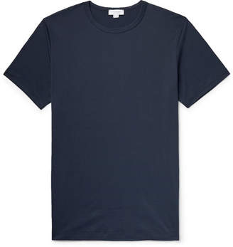 Sunspel Superfine Cotton-Jersey T-Shirt - Navy