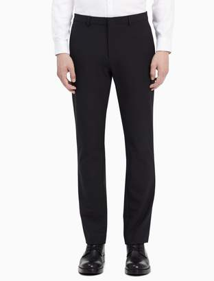 Calvin Klein slim fit infinite tech suit pants