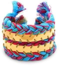 Copacabana Braided Cuff Bracelet